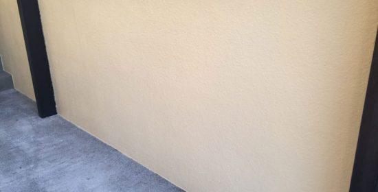 四街道市大日でパーフェクトトップのND-500で門壁・擁壁塗装