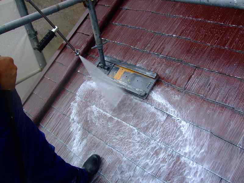 屋根バイオ洗浄