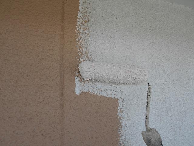 外壁部分の塗装について