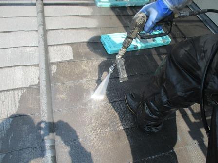 熊本市東区で屋根塗装工事をしました