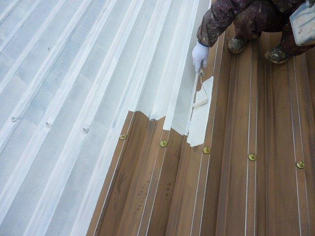 折板屋根錆止め