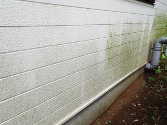 八王子市楢原町にて窯業サイディングのメンテナンス調査、ナノコンポジットWによる塗装工事をご提案