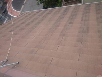 八街市八街ほにて屋根の調査、築16年目で塗膜が劣化した化粧スレートにファインパーフェクトベストによる塗装工事をおすすめ