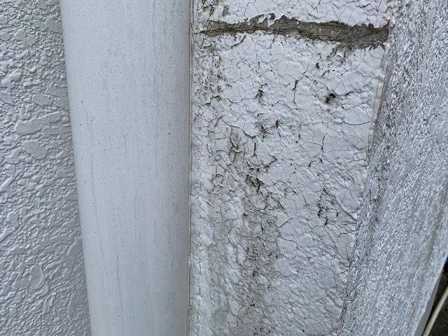 福島市宮代のお客様宅で行った外壁塗り替えについて現調